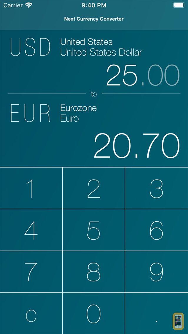 Screenshot - Next Currency Converter Pro