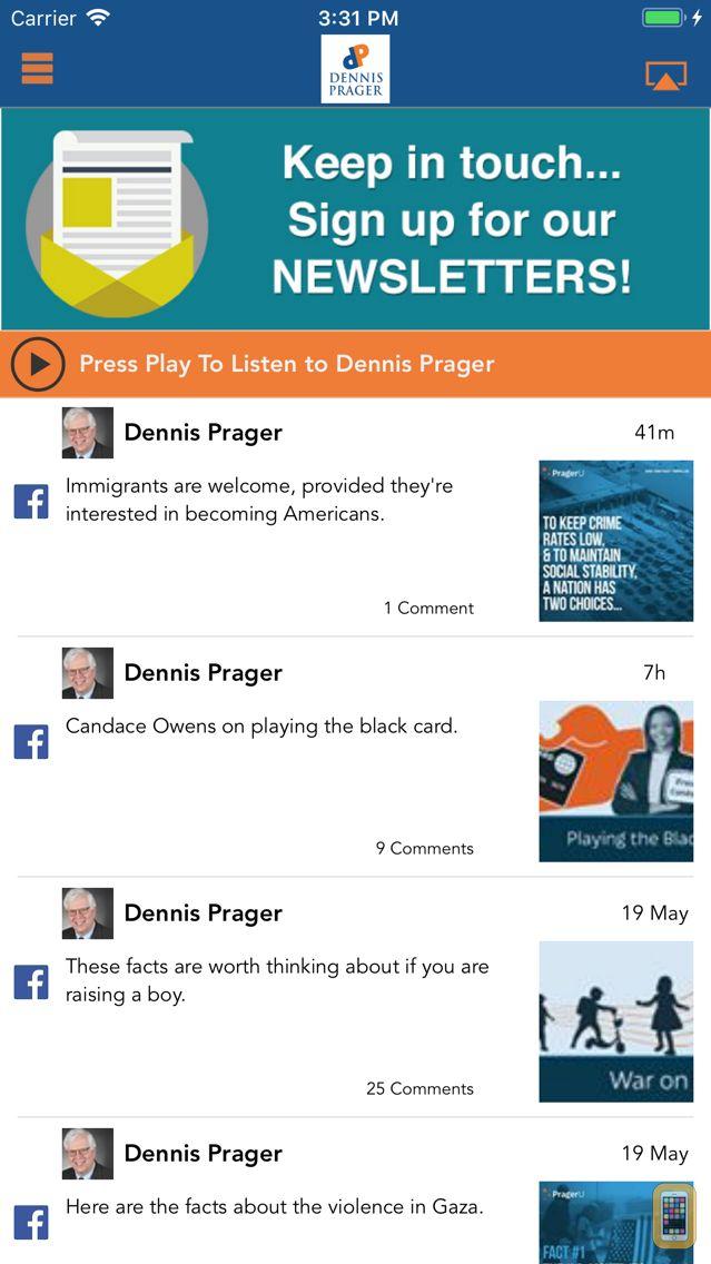 Screenshot - Dennis Prager