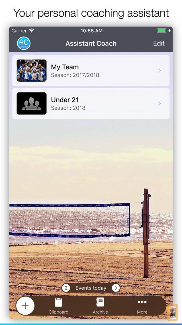 Screenshot - Assistant Coach Volleyball