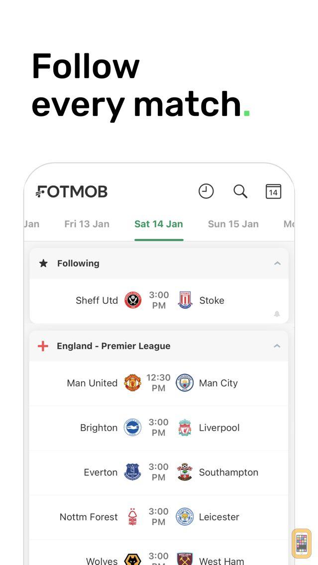 Screenshot - FotMob - Soccer Live Scores