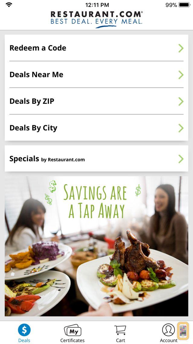 Screenshot - Restaurant.com