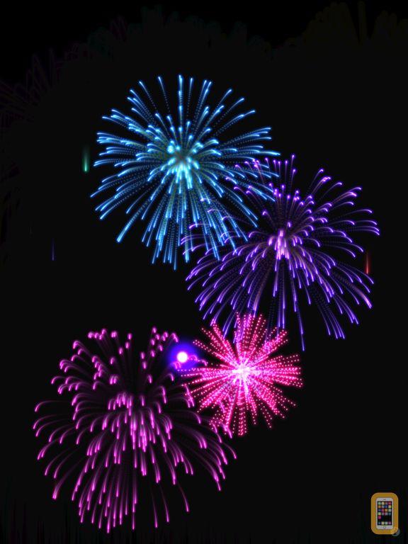 Screenshot - Real Fireworks Visualizer Pro