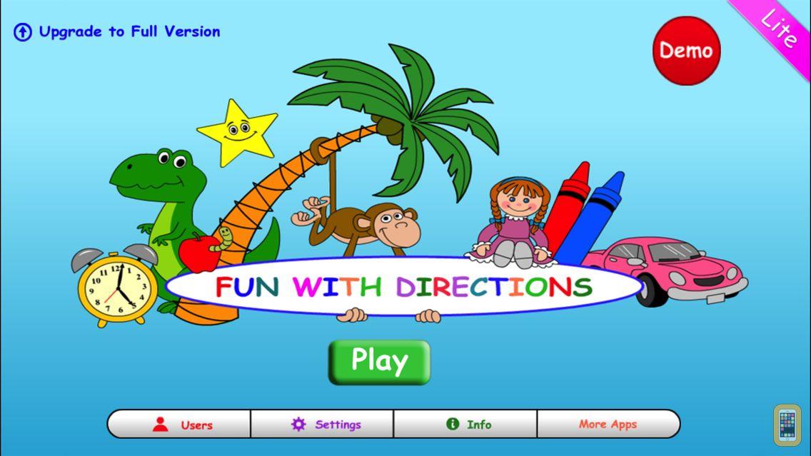 Screenshot - Fun With Directions Lite
