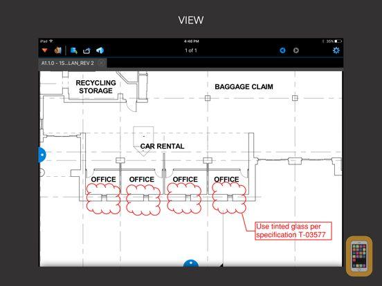 Screenshot - Bluebeam Vu for iPad