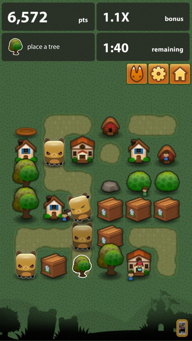 Screenshot - Triple Town - Fun & addictive puzzle matching game