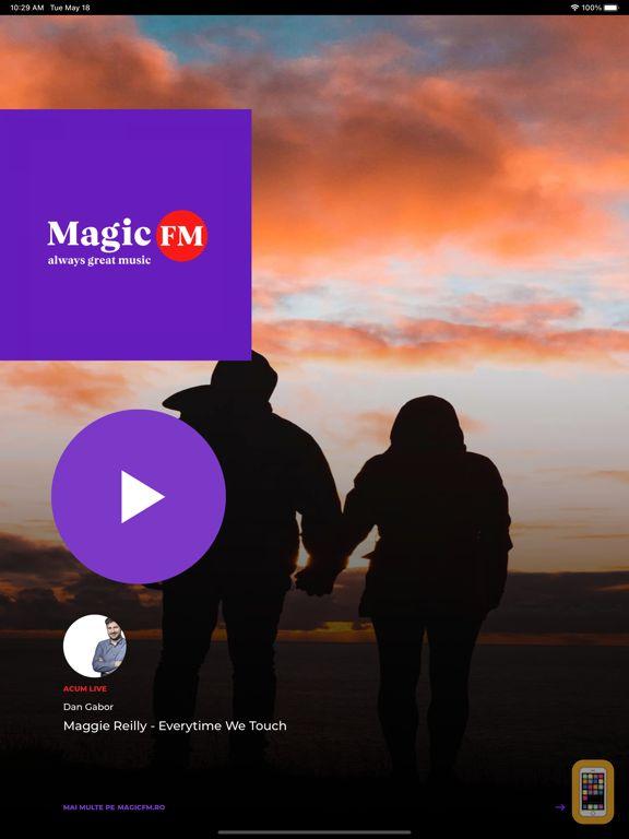 Screenshot - Magic FM Romania