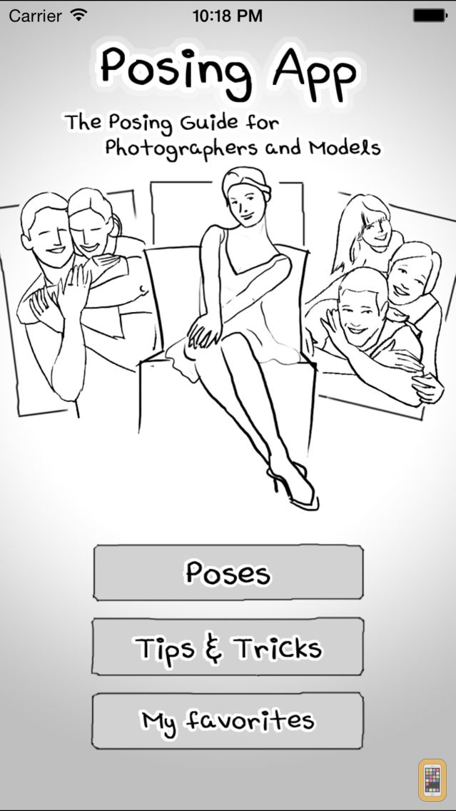 Screenshot - Posing App