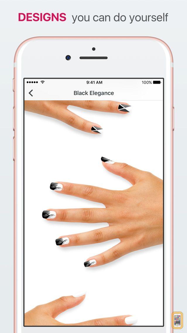 Screenshot - Nail Designs - Create Beautiful Manicures & Art