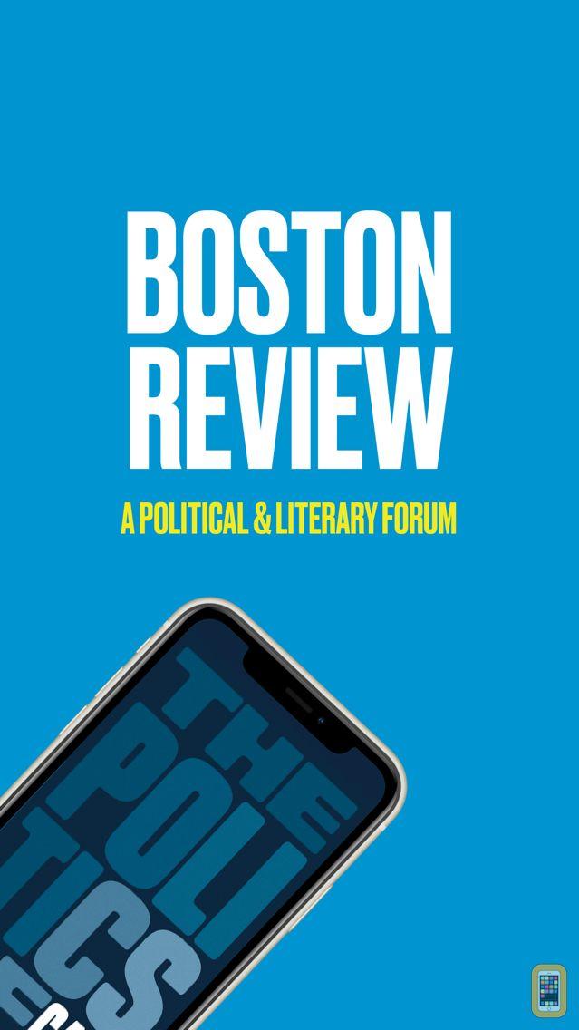 Screenshot - Boston Review Magazine