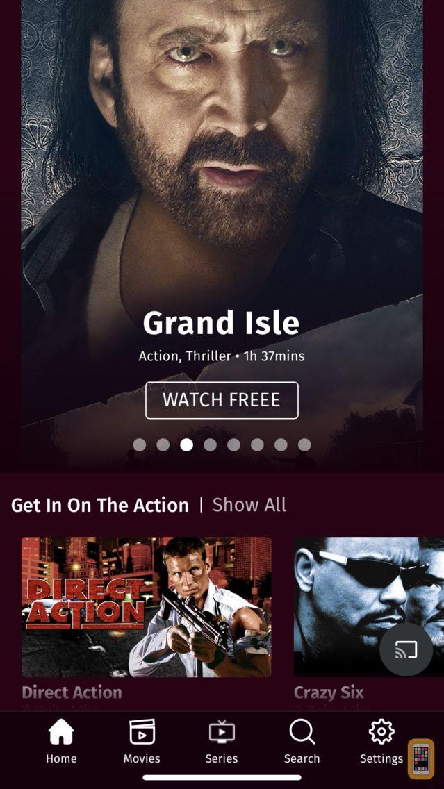 Screenshot - Popcornflix - Movies and TV