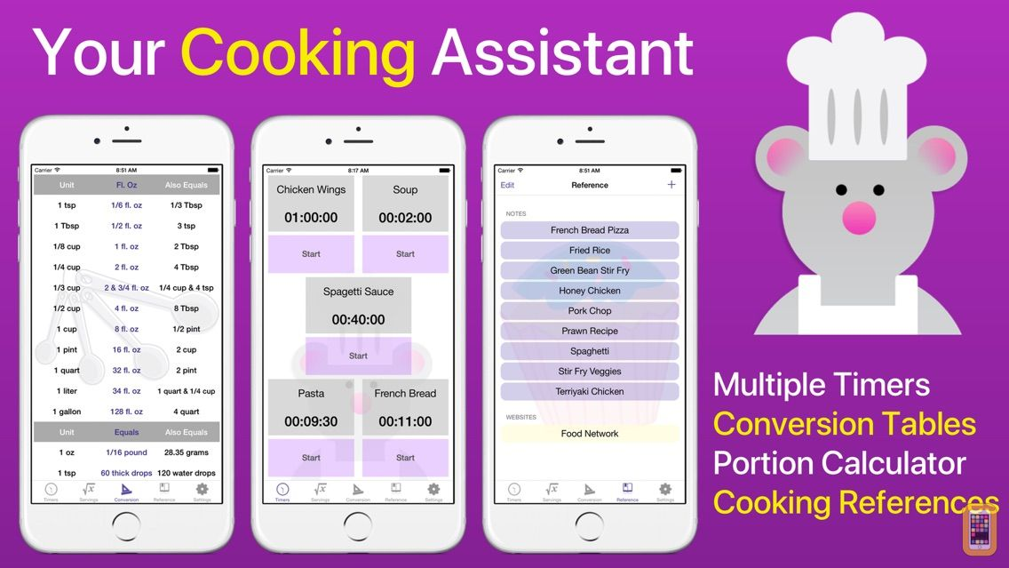 Screenshot - Sous Chef Pro: Timers & Tools