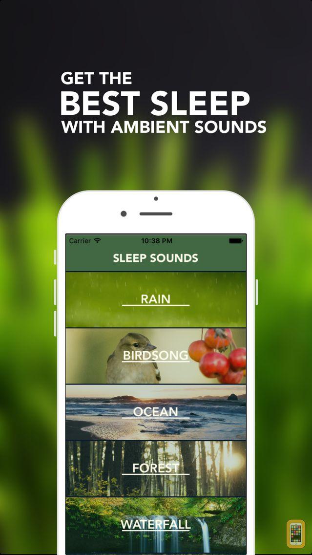 Screenshot - Sleep Maker - White Noise, Natural relaxing ambient sounds for meditation & yoga, help fall asleep