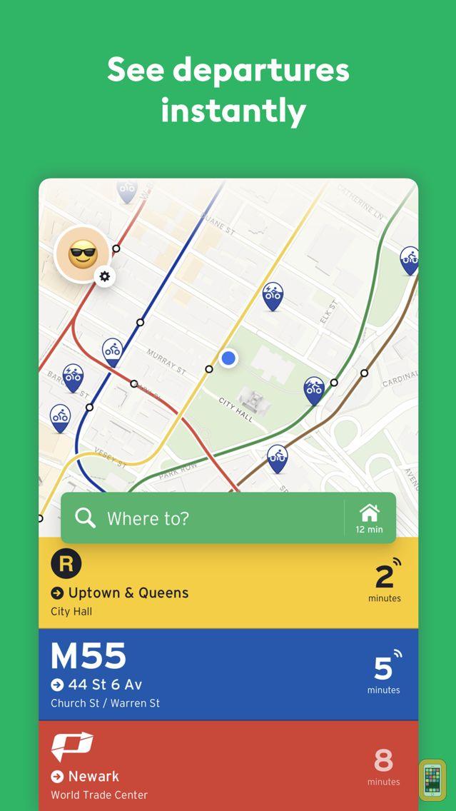 Screenshot - Transit • Subway & Bus Times