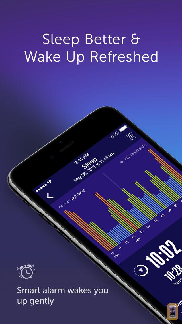 Screenshot - Sleep Time+ : Sleep Cycle Smart Alarm Clock, Sleep Tracker with Sleep Cycle Analysis and Soundscapes for Better Sleep