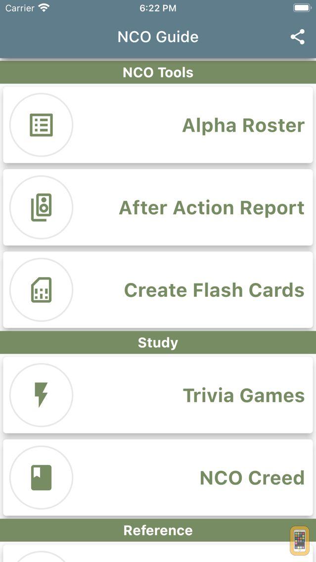 Screenshot - Army NCO Guide
