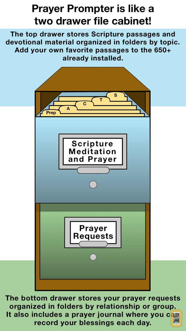 Screenshot - Prayer Prompter App – Christian Prayer Requests Organizer & Daily Worship Time Manager