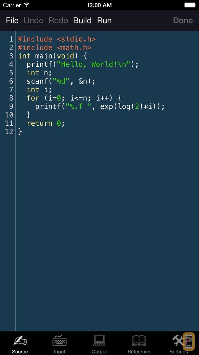 Screenshot - C Programming Language