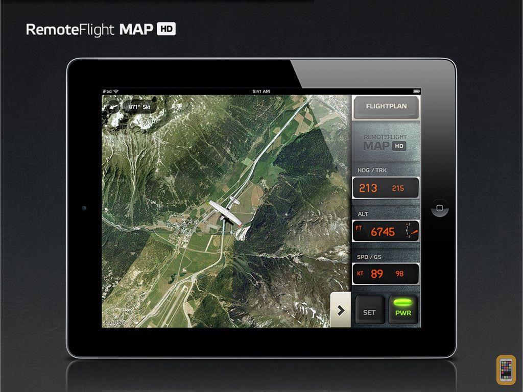 Screenshot - RemoteFlight MAP HD