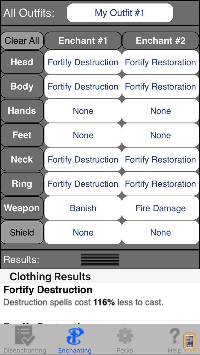 Screenshot - Enchanting for Skyrim ®