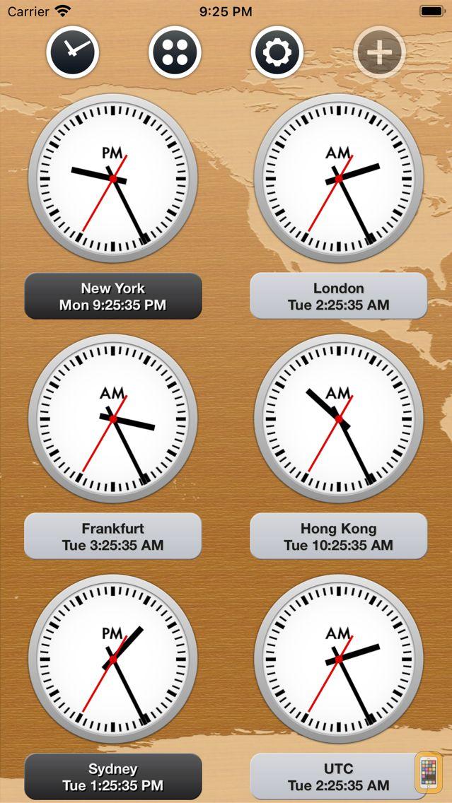 Screenshot - News Clocks Ultimate