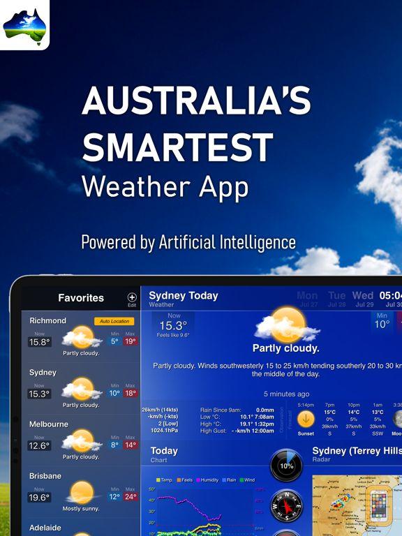 Screenshot - AUS Weather for iPad HD