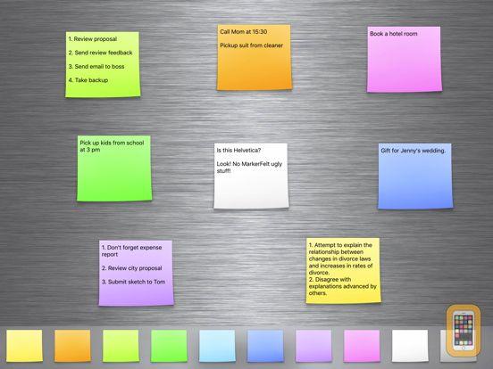 Screenshot - Sticky Notes