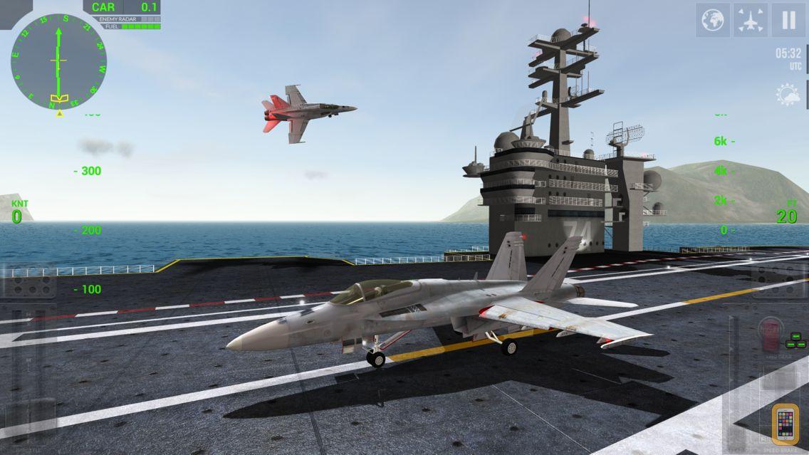 Screenshot - F18 Carrier Landing Lite