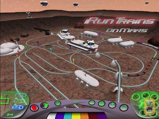Screenshot - iRunTrains on Mars