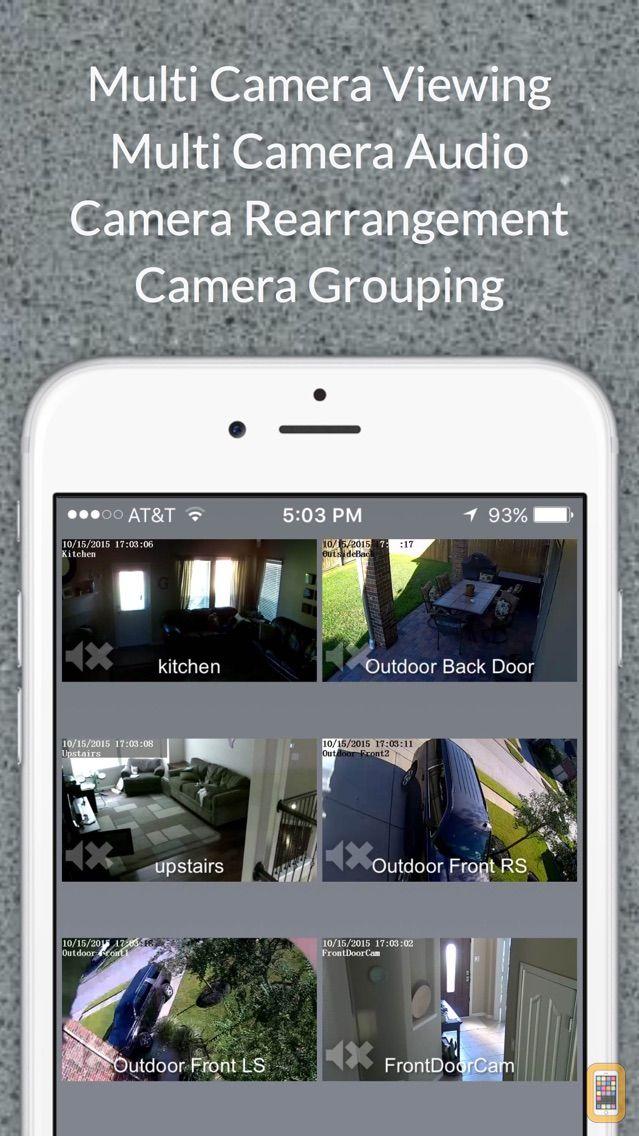 Screenshot - Foscam Pro: Multi IP Camera Viewer