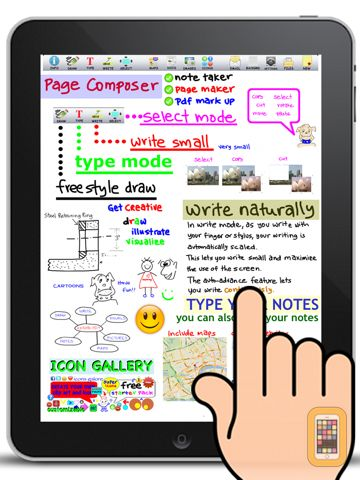 Screenshot - Page Composer & Note Taker for the iPad