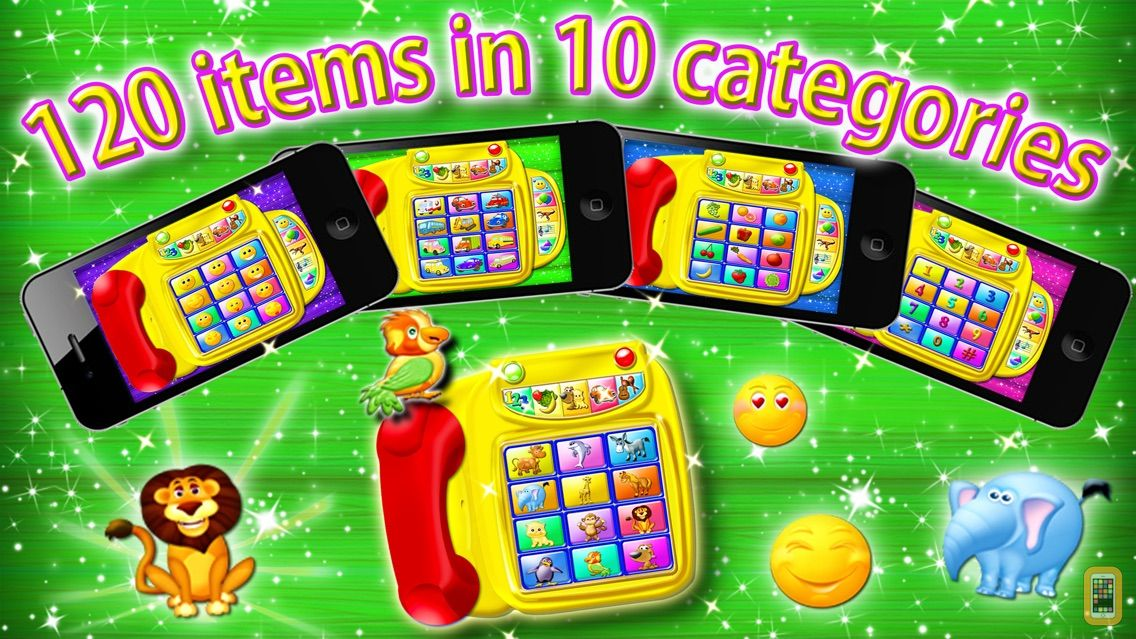 Screenshot - Preschool Toy Phone - 10 in 1 activity center for toddlers HD