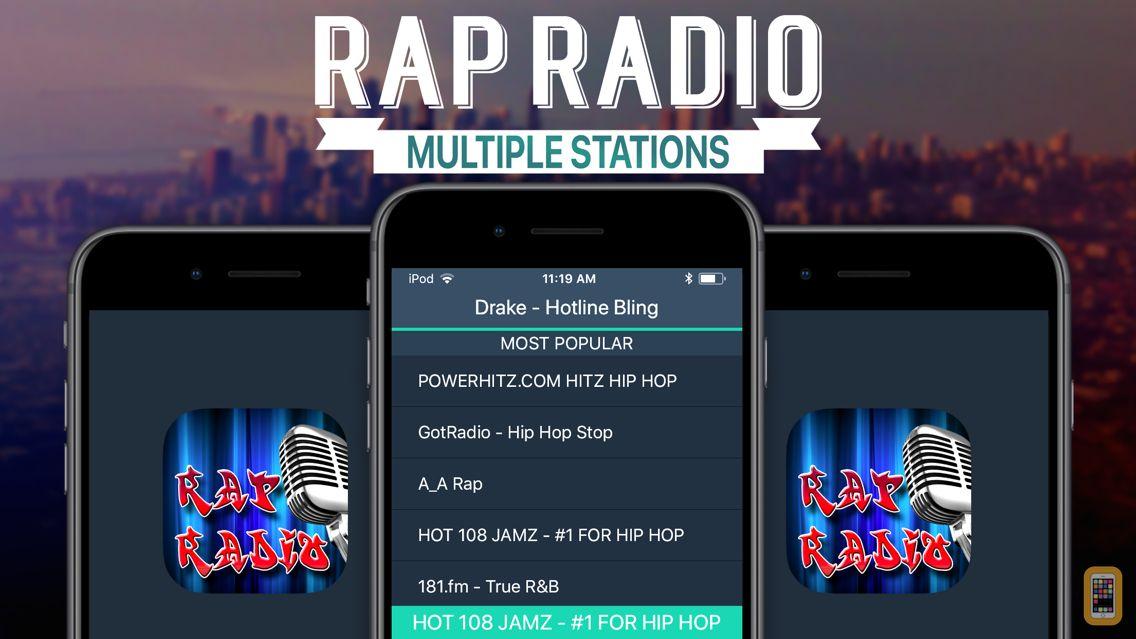 Screenshot - Rap Radio+