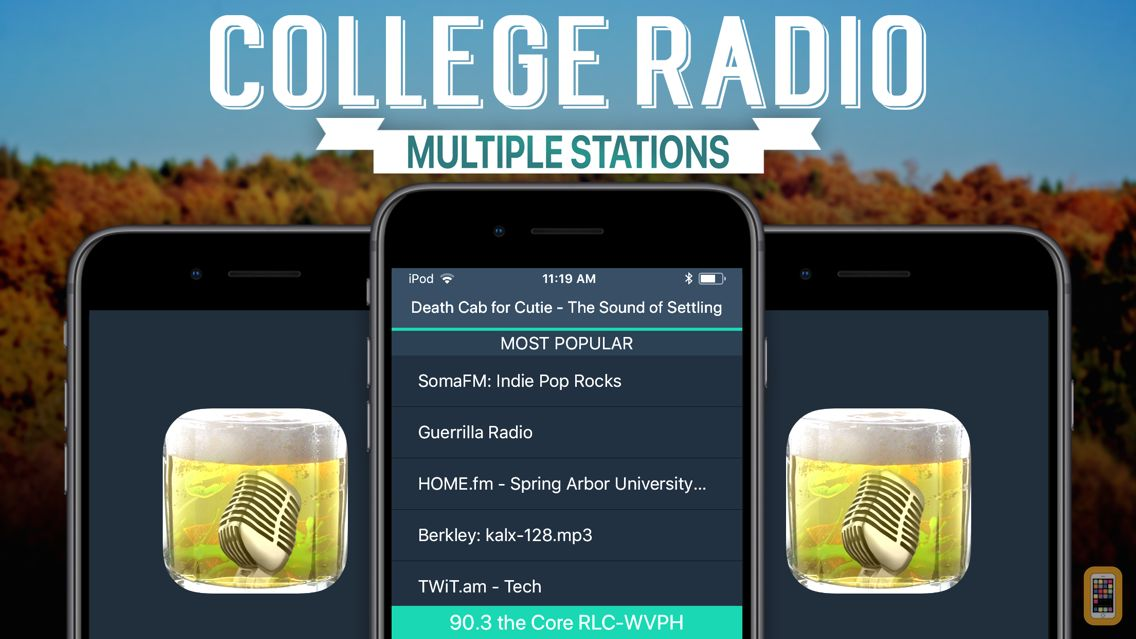 Screenshot - College Radio