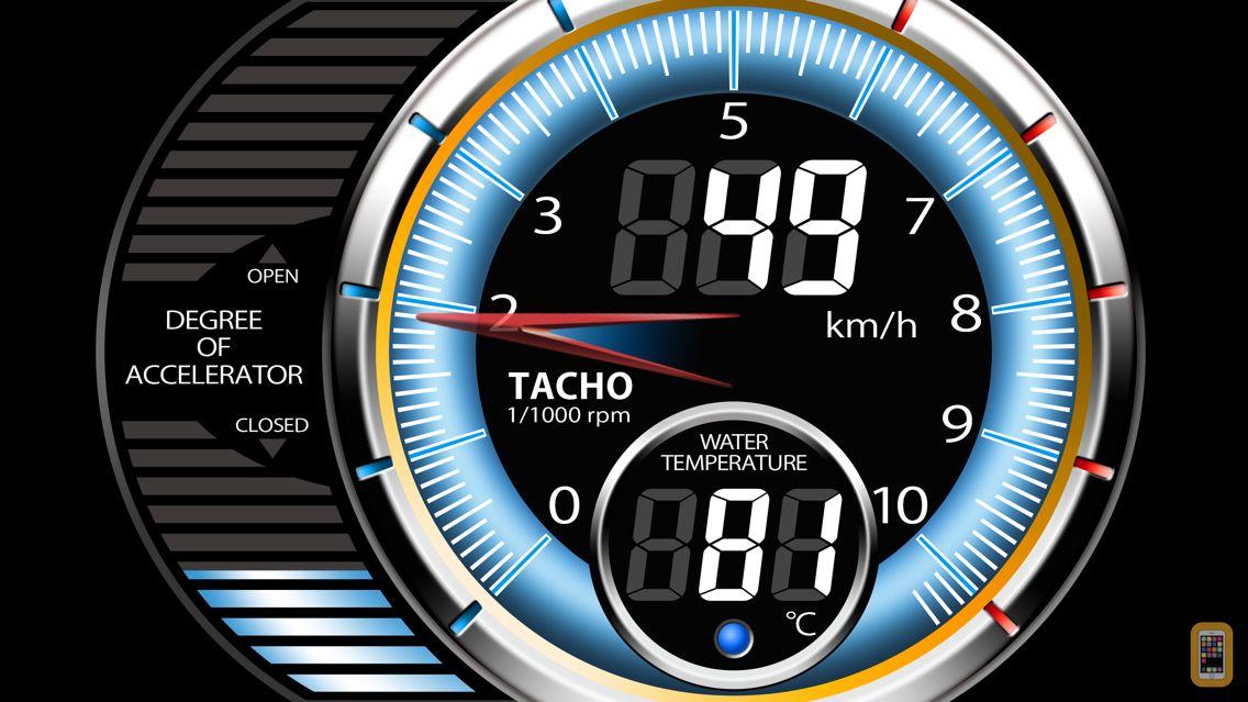 Screenshot - DriveMate Meter -SPEED METER-