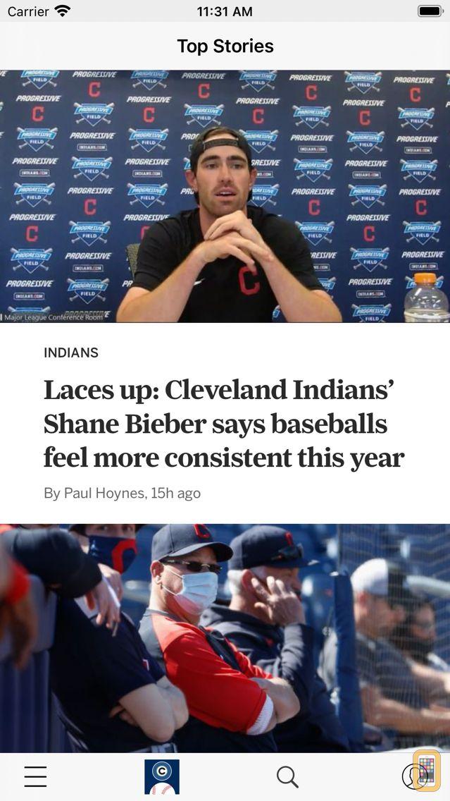 Screenshot - cleveland.com: Indians News