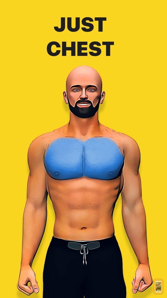 Screenshot - Chest workout plan