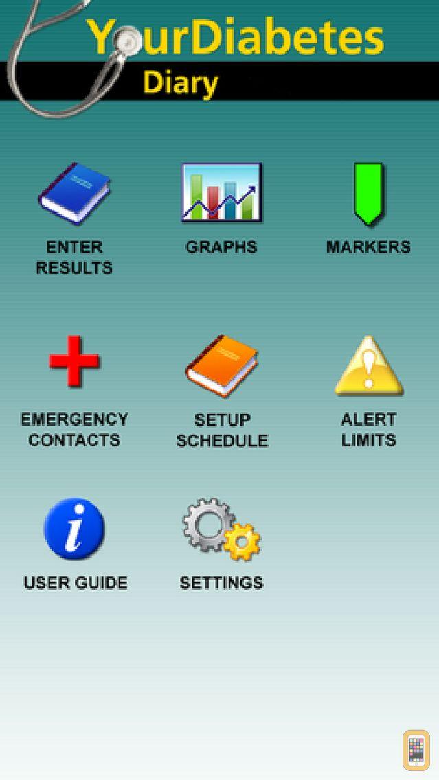 Screenshot - Your Diabetes Diary