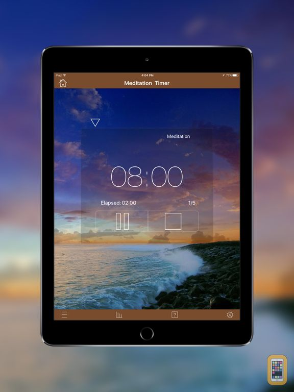 Screenshot - Meditation Timer Pro for iPad