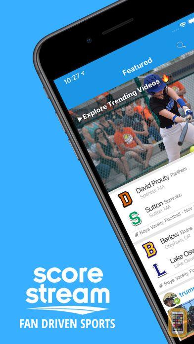 Screenshot - ScoreStream Sports Scores