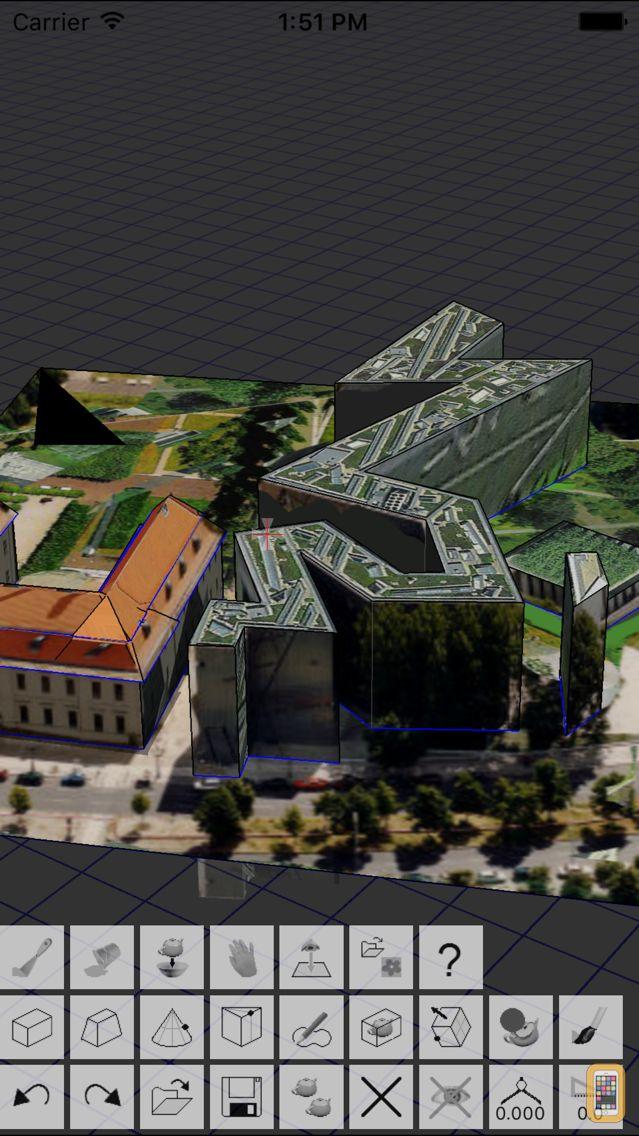 Screenshot - Artist3D - Modeling Tool