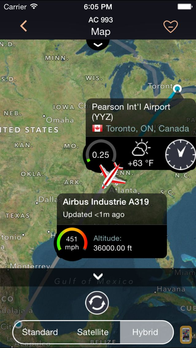 Screenshot - Airline Flight Status Tracker