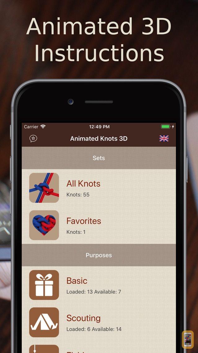 Screenshot - Animated 3D Knots