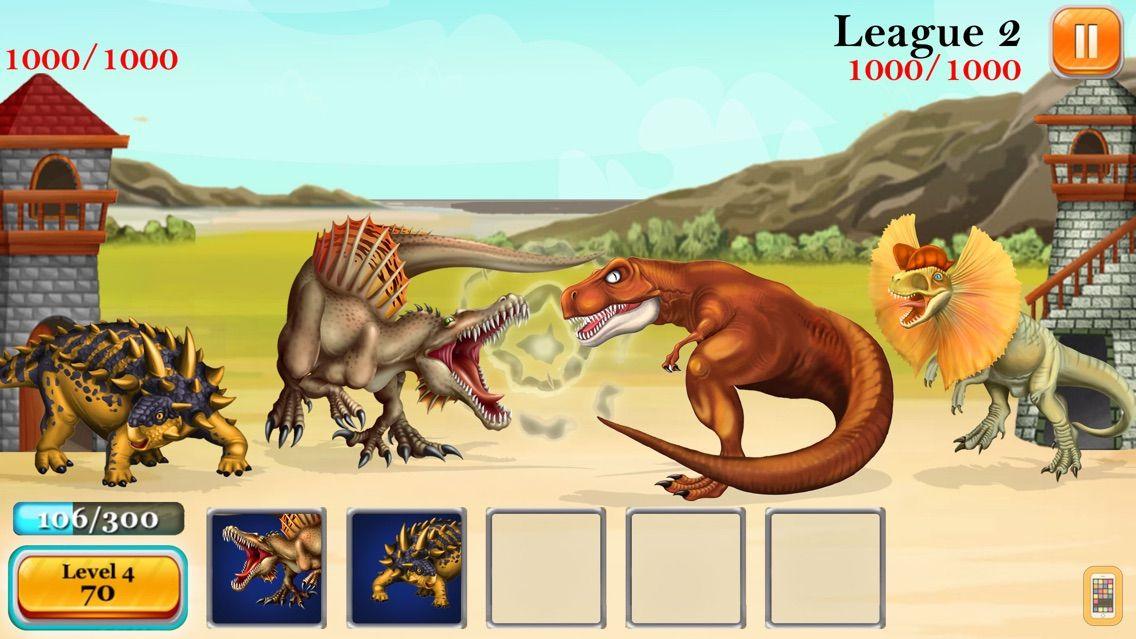 Screenshot - DINO ZOO - Jurassic Dinosaur Fighting Breeding Park Builder