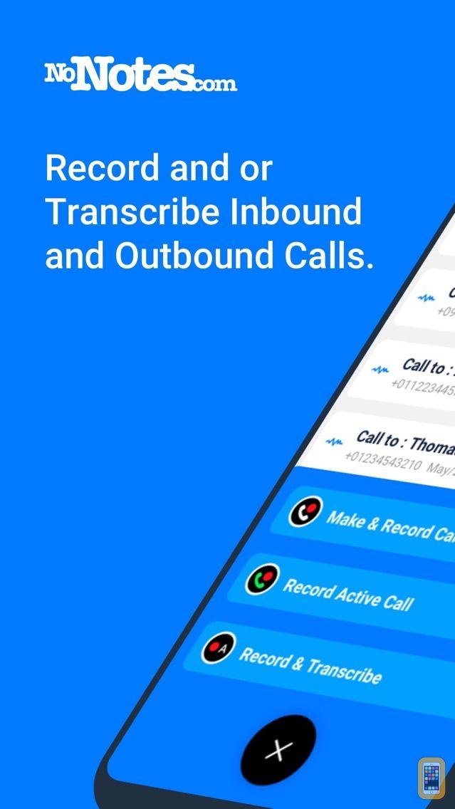 Screenshot - Call Recording by NoNotes