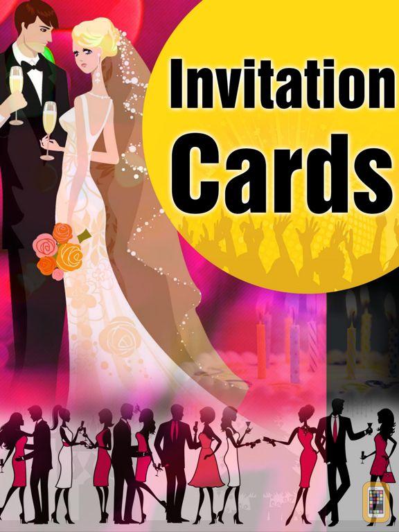 Screenshot - Invitation Cards