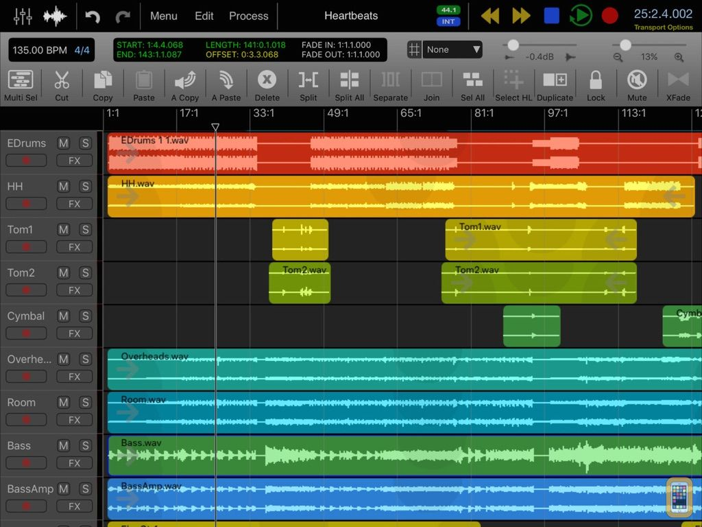 Screenshot - Auria - Music Production