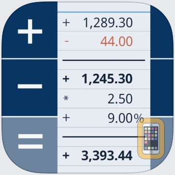 CalcTape Paper Tape Calculator by schoettler Software GmbH (Universal)