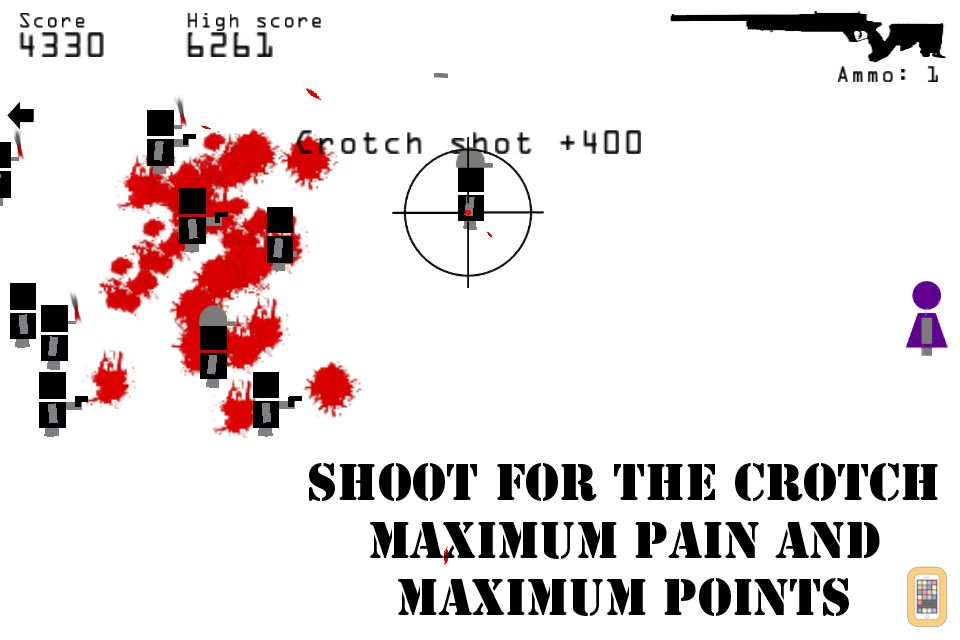 Screenshot - Killer Shooting Sniper X - top game for Clear Vision training