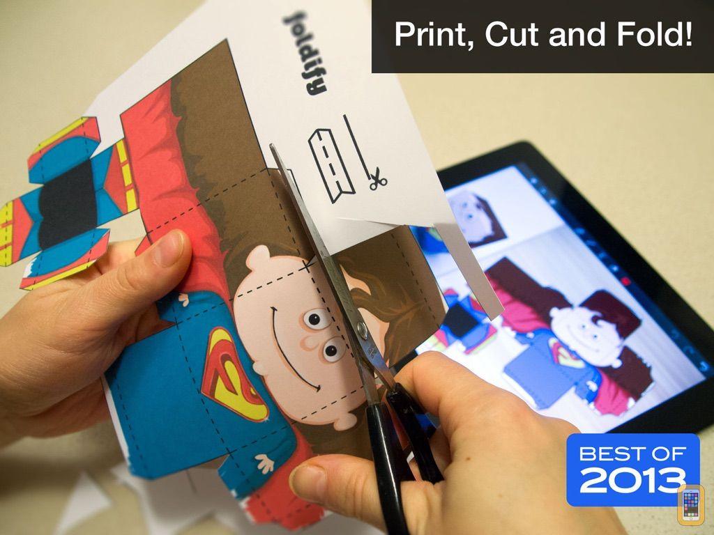 Screenshot - Foldify - Create, Print, Fold!