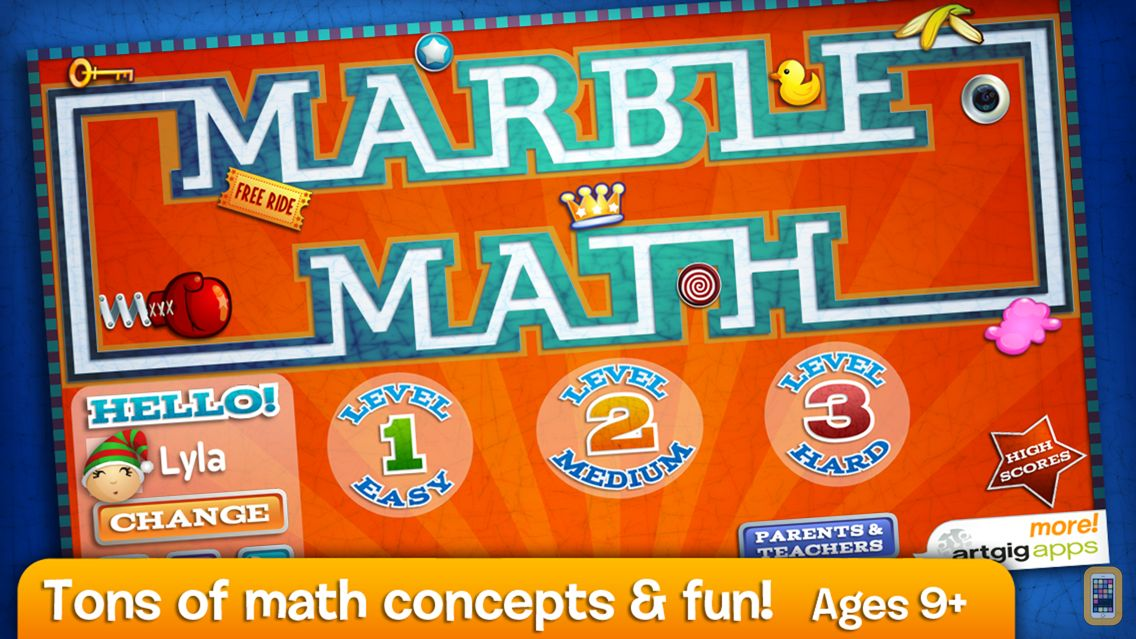 Screenshot - Marble Math
